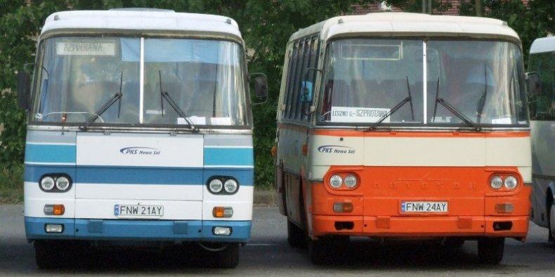 Autosany H9 w w PKS Nowa Sól w 2006 r. fot. Mohylek Wikimedia
