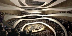 Sala koncertowa Sinfonia Varsovia - wizualizacja