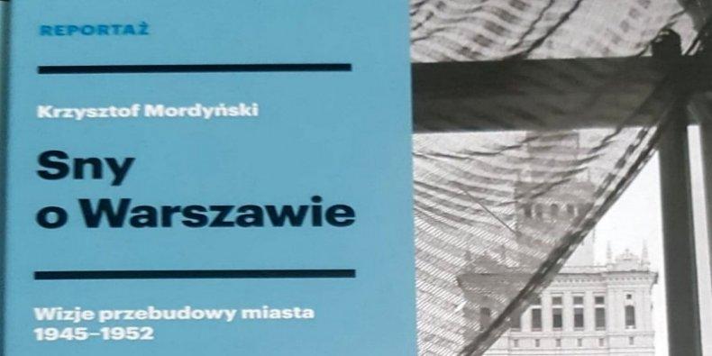 Sny o Warszawie fragment okładki