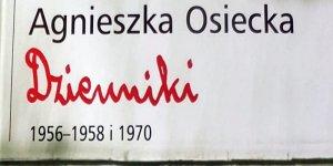 Dzienniki Agnieszki Osieckiej fragment okładki
