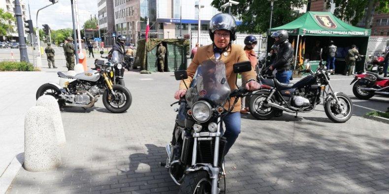 Michał Wieremiejczyk - uczestnik The Distinguished Gentleman's Ride