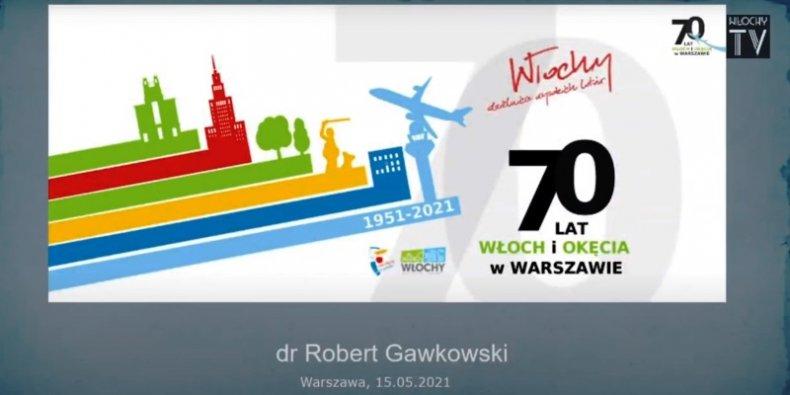 Historia o Włochach dr. Roberta Gawkowskiego. Fot. Włochy TV