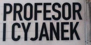Profesor i cyjanek fragment okładki