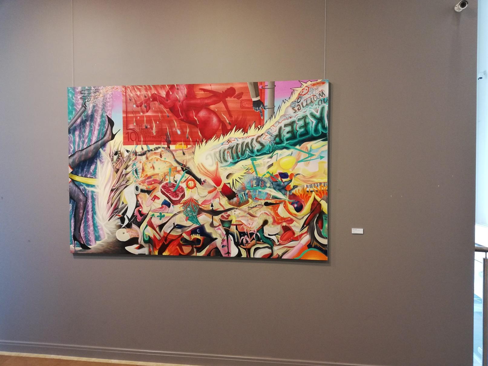 Z wystawy What I Want - Kolekcja Nocny Art Patrol w Muzeum im. Bolesława Biegasa