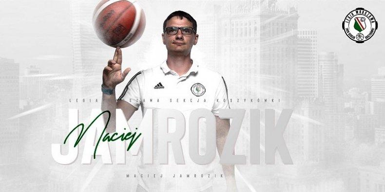 Maciej Jamrozik asystentem trenera w sztabie szkoleniowym Legii