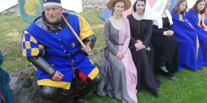 Średniowieczni mieszczanie