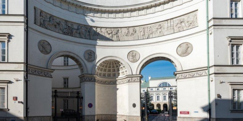 Ministerstwo Zdrowia w Pałacu Paca Warszawa ul. Miodowa fot. Tilman2007