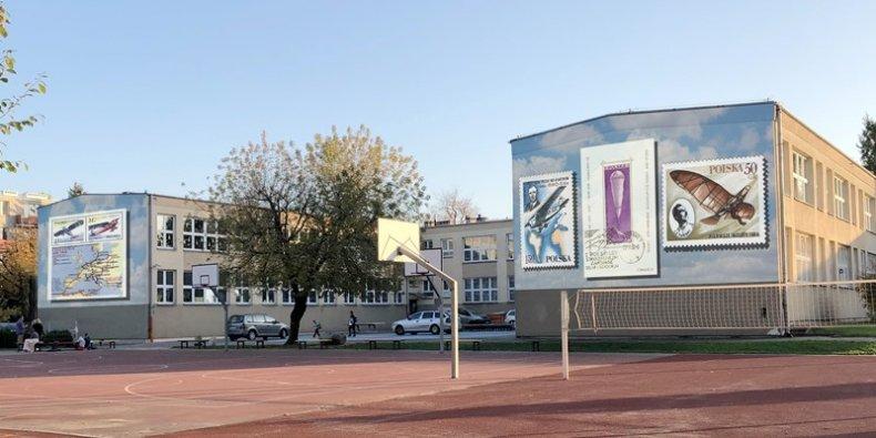 Mural lotniczy - projekt do budżetu obywatelskiego 2022 r., Artur Adamiec