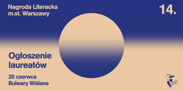 Ogłoszenie laureatów Nagrody Literackiej m.st. Warszawy 2021