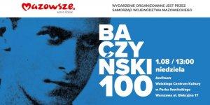 Baczyński 100 plakat koncertu