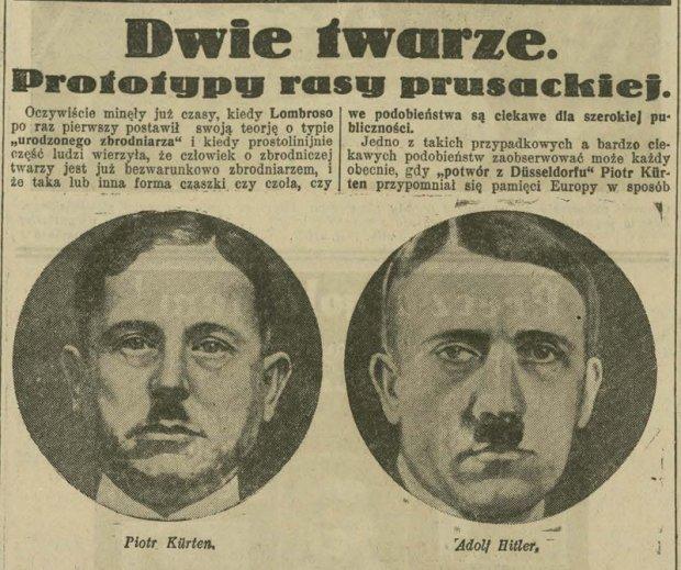 Porównanie twarzy Ilustrowany Kuryer Codzienny