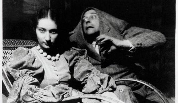 Zdjęcie Witkacego w roli Potwora z Düsseldorfu