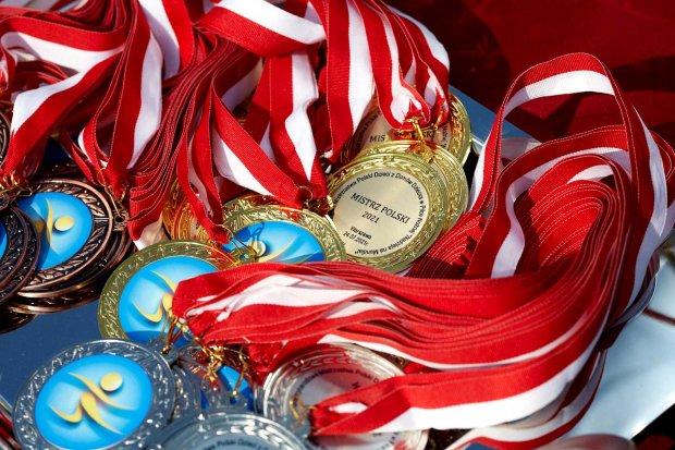 Medale - Międzynarodowych Mistrzostw Polski Dzieci z Domów Dziecka w Piłce Nożnej 2021