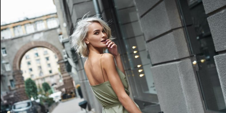 Odzież damska - najchętniej wybierana podczas upałów.
