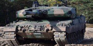 Czołg Leopard 1. Warszawskiej Brygady Pancernej