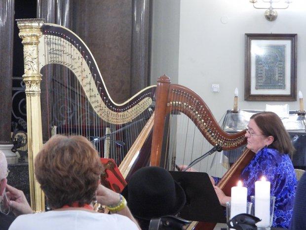Anna Sikorzak-Olek i jej harfy