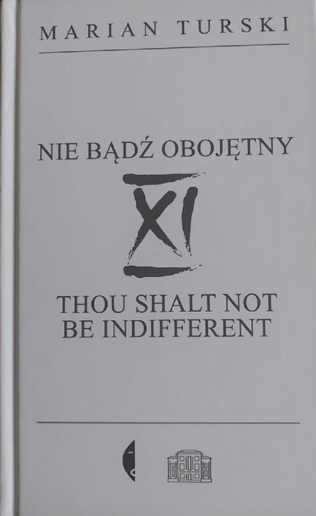 Nie bądź obojętny okładka książki