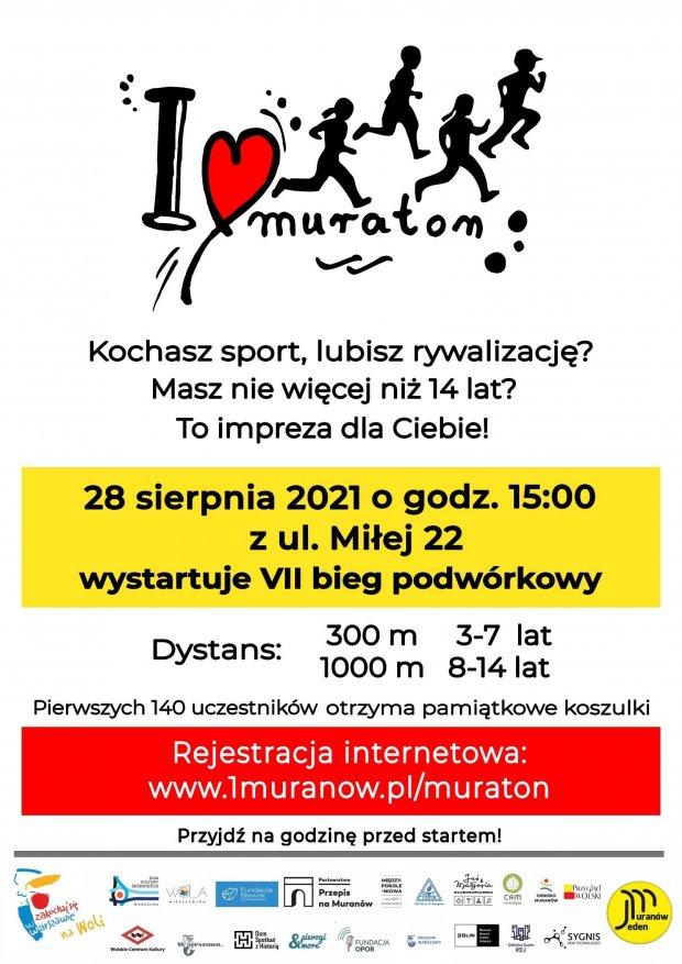 Muraton 2021 - plakat biegu