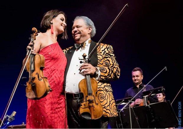 Roby Lakatos i Anna Wandtke