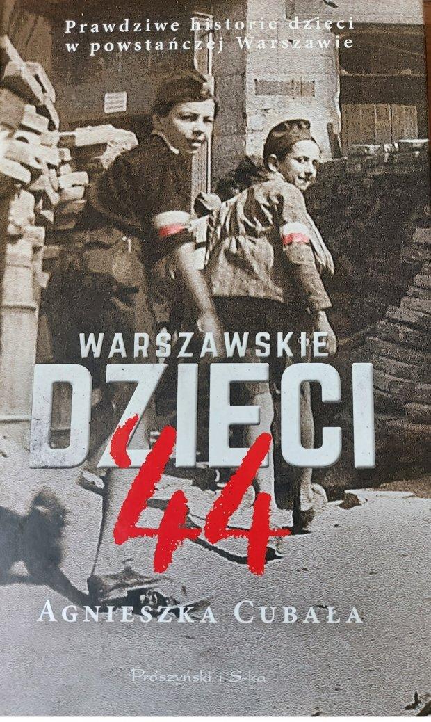Warszawskie dzieci 44 okładka