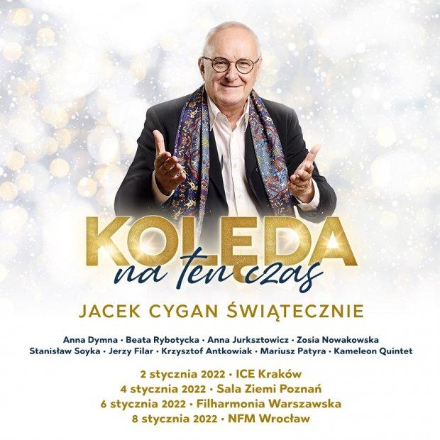 Jacek Cygan świątecznie plakat