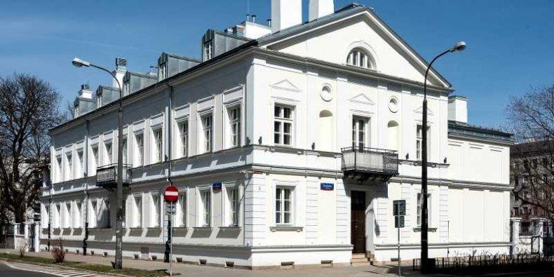 Pałacyk Konopackiego w Warszawie w 2021 r.