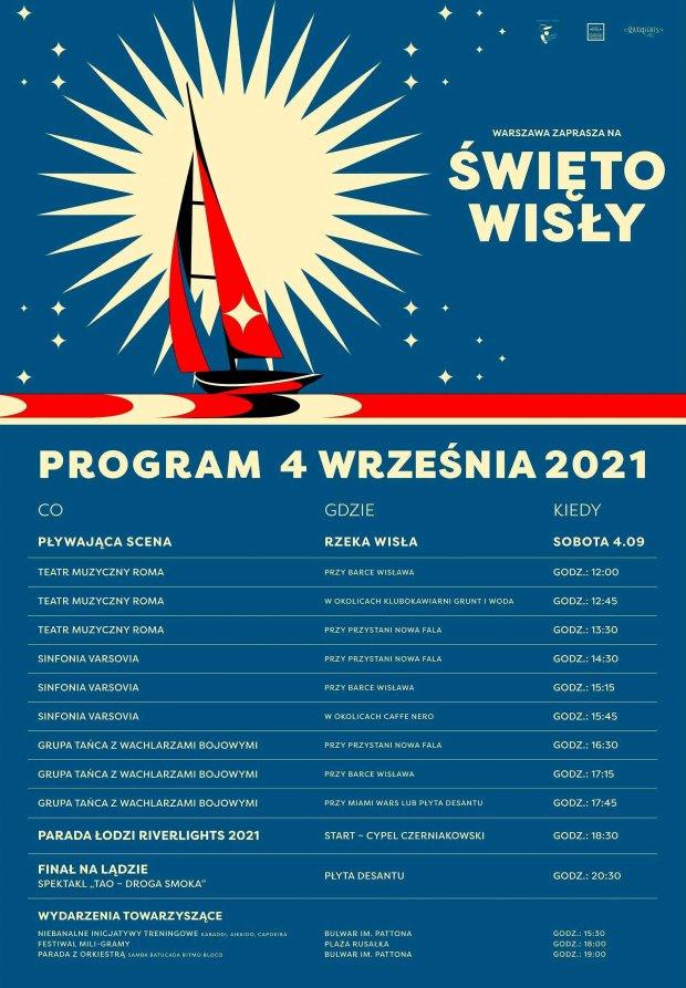 Święto Wisły - program