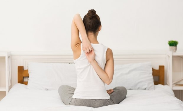 Poranne ćwiczenia - wykonywane na dobranym materacu