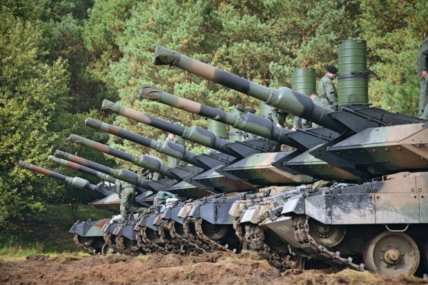 Czołgi 1. Warszawskiej Brygady Pancernej