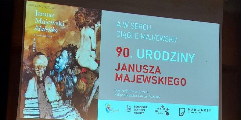90 lat Janusza Majewskiego plansza tytułowa