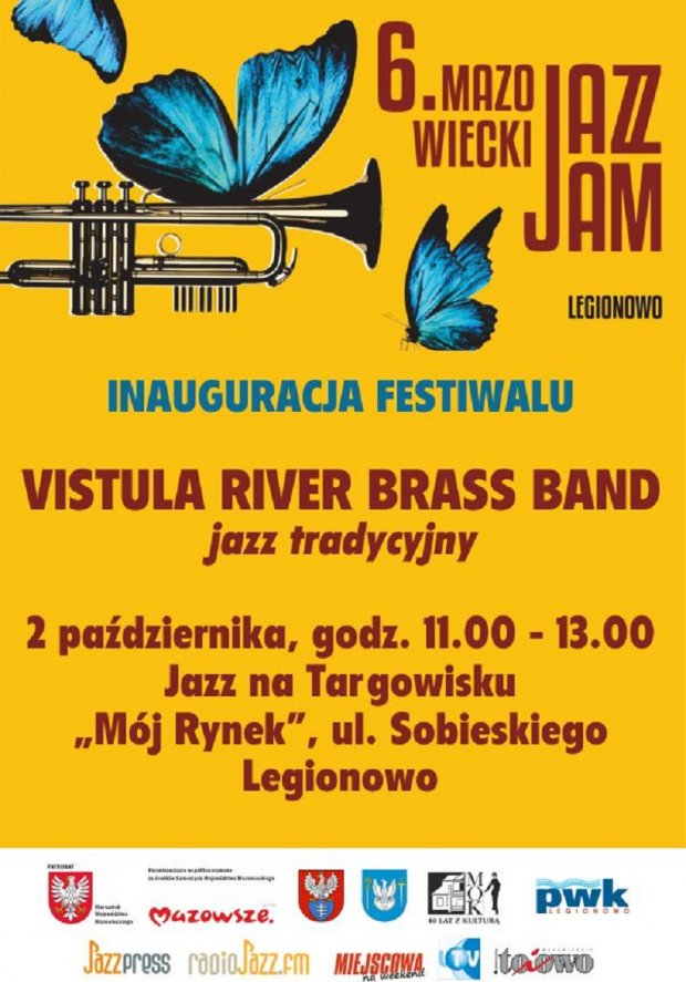 Inauguracja Jazz Jam 2021 plakat